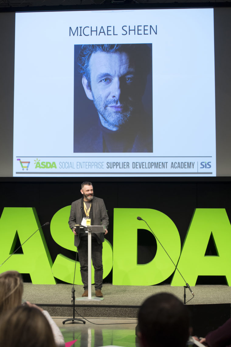 Michael Sheen Social Enterprise Supplier Development Academy